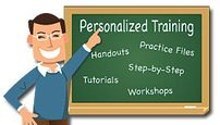 Personalized training on computers, iPads, Kindles, Nooks, Email, Internet, and Websites